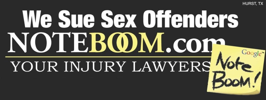Fort Worth Lawyer Suing Sex Offenders | Noteboom Firm